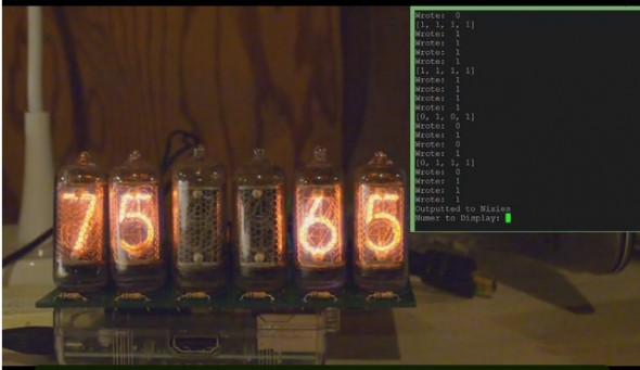 Raspberry Pi Nixie3