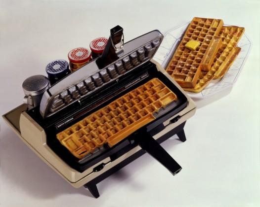 Keyboard Waffle Iron 10