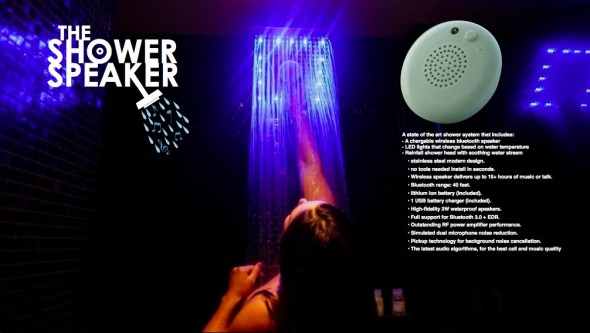 Shower Speaker 1