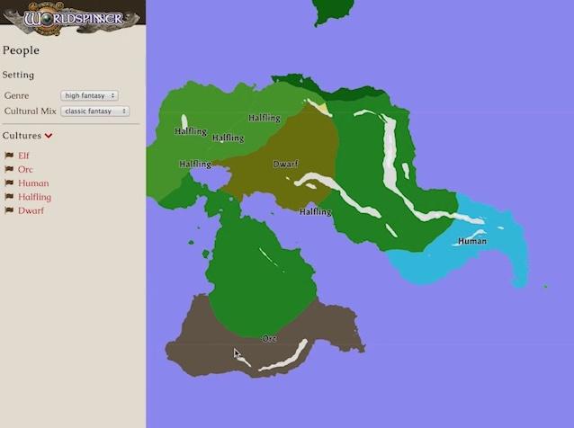 TRPG用のマップ作成ツール Worldspinner(ワールドスピナー ...