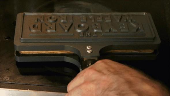 Keyboard Waffle Iron 1