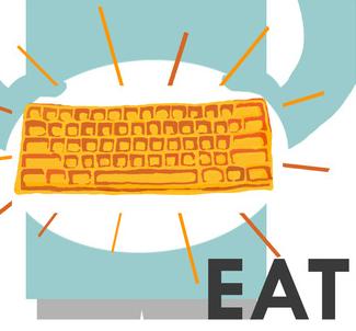 Keyboard Waffle Iron 7