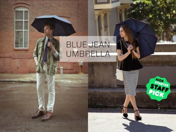 BlueJeanUmbrella120