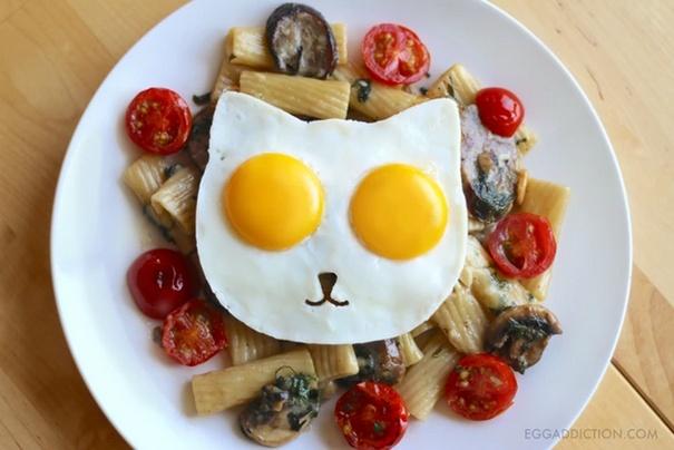 Cat Fried Egg Mold 7