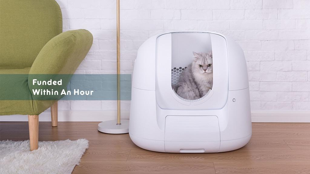 猫のトイレが臭い そこで自動掃除機つきのトイレ。ついでに体調管理も Footloose フットルース